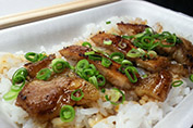 新居浜代表B級グルメ「ぶひ丼」