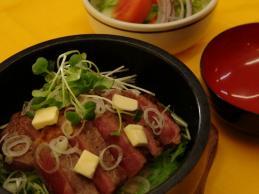 #43-わら庄風 ステーキ丼