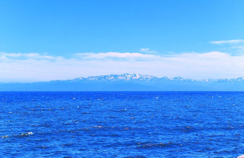 立山連峰を望める景色