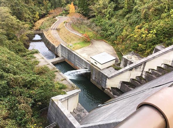 八ケ川ダム